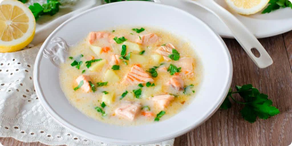 Норвежский сырный суп