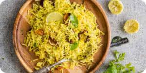 Нимбу чавал - «лимонный рис»